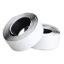 Practical 2 Rolls Strong Self Adhesive Hook Loop Tape Fastener 1m Black(China)