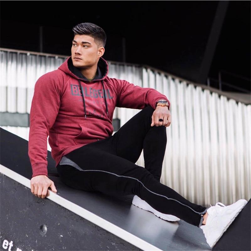 hoodies Sweatshirt Men sport suit-2