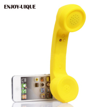 UNIQUE wireless Bluetooth Mic Retro Telephone Cell Phone Handset Receivers mobile phone Headphones Bluetooth Handset Speaker