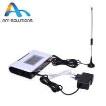 GSM FWT fixed wireless terminal with LCD screen for connecting desktop phone to make phone call