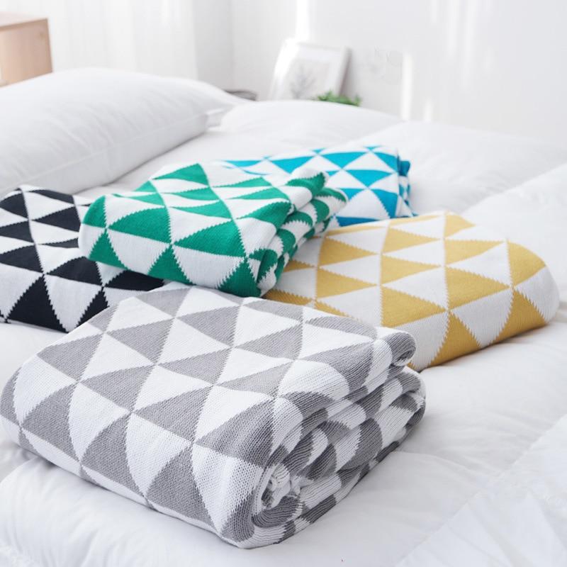 Super Soft Knitted Baby Blanket Soft Newborn Infant Bedding Kids Plaid Linens 130cm*170cm Baby Wrap Swaddles Kids Room Decor<br>