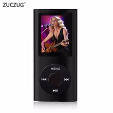 ZUCZUG 2017 new 4TH MP3 FM Radio 16GB 32GB Mp4 Music Player Built-in Memory Free shipping