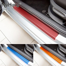 Buy Mitsubishi ASX Lancer RVR 2011 2012 2013 2014 2015 car door sill scuff carbon fiber vinyl sticker Stickers 4pcs car styling for $10.05 in AliExpress store