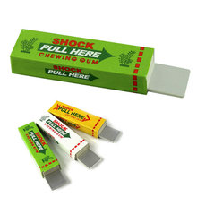 Fantastic Electric Shock Chewing Gum Joke Prank Trick April Fool's Day Funny Toy(China)