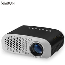 Symrun Dual HDMI TV Mini Projector TV Home Theater LED Projector Support Full Hd 1080p Video Media player Hdmi LCD 3D Beamer
