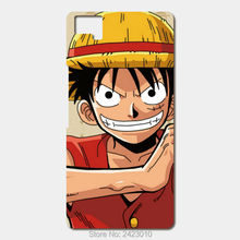 New one piece luffy Patterned Cell Phone Cover For BQ Aquaris M5 E5 E6 X5 and X5 Plus case(China)
