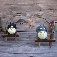 night light Spirited Away Student My Neighbor Totoro LED night light reading lamp table luminaria Children Gifts home Decoration