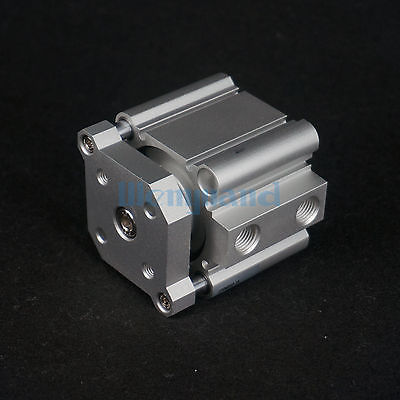 CDQMB50-15 Compact Cylinder Bore 50mm Stroke 15mm Guide Rod Double Acting Built-in Magnet <br>