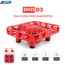 Newest MINI Quadcopter DHD D3 Micro Pocket Drone Crashworthy Structure Switchable Controller RC Helicopter For Kids VS JJRC H36