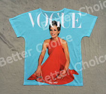 Track Ship+New Fresh Hot T-shirt Top Tee Vogue Orange Evening Dressed Forever Wales Princess Diana Spencer 0570(Hong Kong)