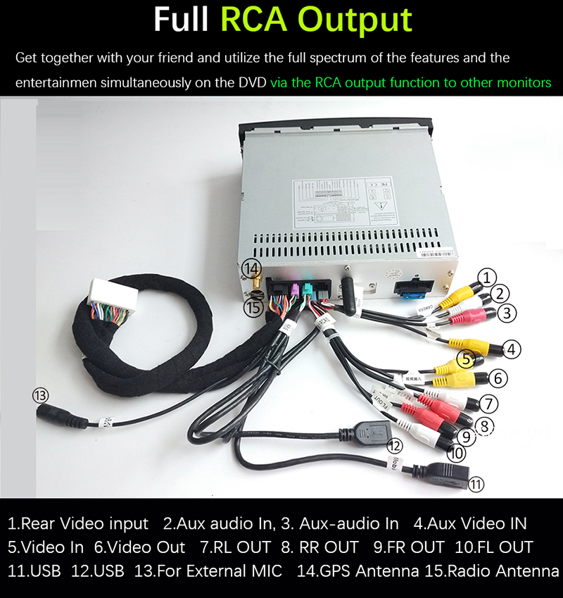 RCA output-800