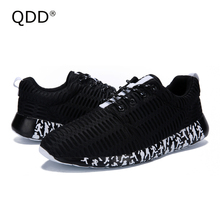 Big Size EUR 39-47! Outdoor Light Weight Running Shoes, Breathable Air Mesh Slip-On Shoes, Comfortable Men Sports Running Shoes.