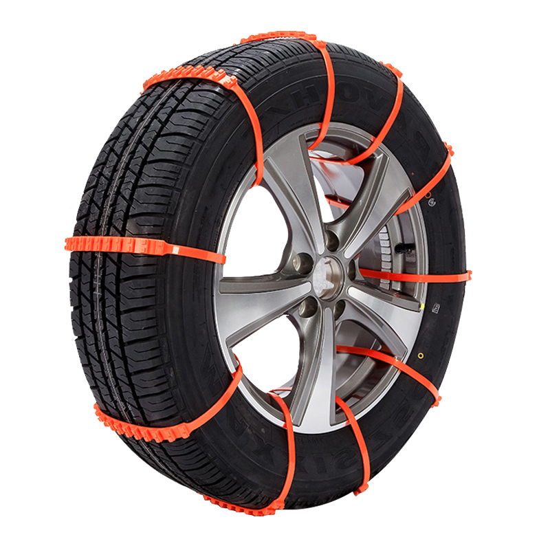 6 PCS Cable Snow Tire Chain Reusable Car Anti Slip Tire Traction Easy Installation//Removal for Car Truck SUV Emergency Winter Driving Car Tire Anti-Skid Block