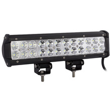 "weketory 12"" inch 72W LED Work Light Bar for Tractor Boat Off-Road 4WD 4x4 Truck SUV ATV Spot Flood Combo Beam 12v 24v"