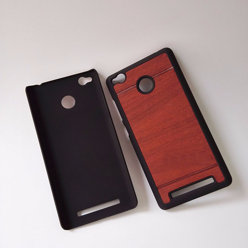 luxury hard wood plastic original phone cases back cover coque case for Xiaomi Redmi 3 pro prime 3s 3x Redmi3 3 s x accessories