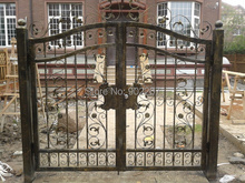 wrought iron gate we produce and sell hand made small wrought iron gates for villa