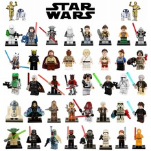 2017 Newest & Classic Rogue One Star Wars Jedi Knight Clone Soldier The Bounty Hunter Sith Starwars Blocks Toys Legoing