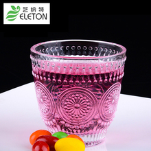 ELETON Sunflower glass cup custom creative milkshake drink cup breakfast Juice milk cup drinkware Whiskey Glass Cup drinkware(China)
