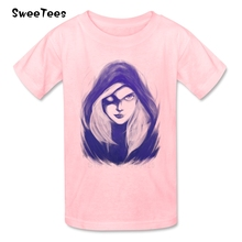 The Drow Ranger Boys Girls T Shirt 100% Cotton Short Sleeve O Neck Tshirt Children Tees 2017 Best Selling T-shirt For Baby(China)