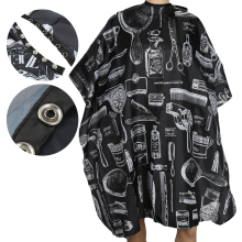 Professional Hair Cutting Styling Gown Barber Capes Cloth For Barber Hair Salon Aprons Salon Hair Cuts Waterproof Cape