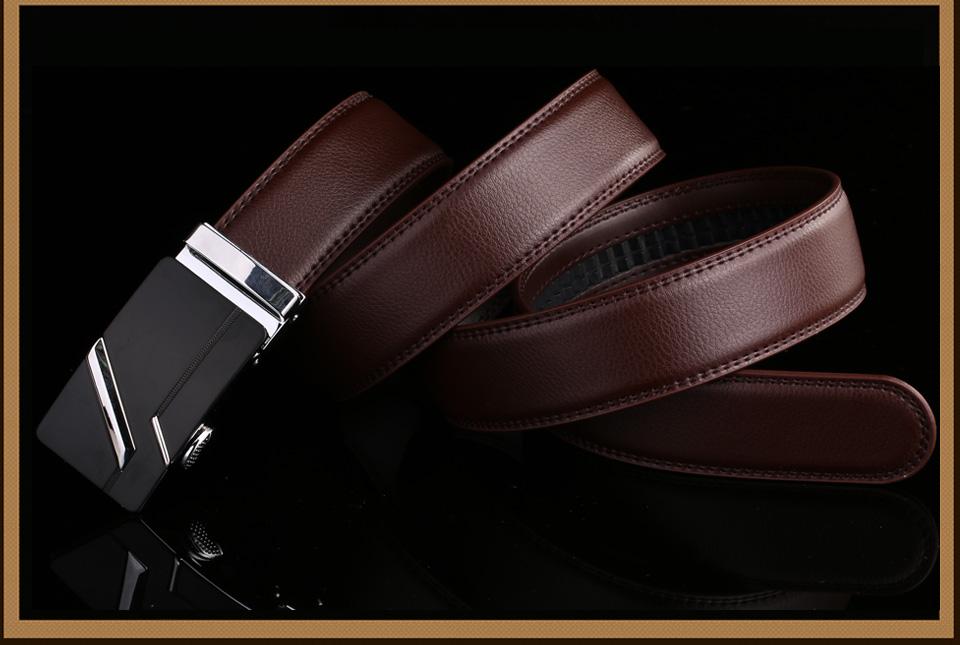 PATEROY Men's Belt Male Waist Belts Genuine Leather Riem Cinturon Hombre Ceinture Homme Designer Cinto Masculino High Quality