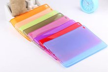 Case For Apple iPad 6 Air2 TPU Soft Case Cover Crystal Clear Transparent Ultra Thin Shell Tablet accessories For iPad6 Air2+pen(China)