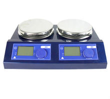 JK-MSH-Pro-2B Cheap China Market Place Laboratory Magnetic Stirrer 2 Position With Hotplate(China)