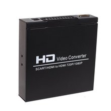 HD 1080P Digital SCART HDMI to HDMI Converter Full High Definition Video Converter Adapter for HDTV HD Projector