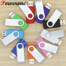 POWERONE New USB Flash Drives Swivel External Pendrive 64GB 32GB 16GB 8GB 4GB memory stick usb Creative pen drive