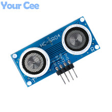 10 pcs HC-SR04 Ultrasonic Module Distance Measuring Transducer Sensor for Arduino Samples HC-SR04-P Without Oscillator