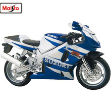 MAISTO 1:18 Suzuki GSX R750 MOTORCYCLE BIKE DIECAST MODEL TOY NEW IN BOX FREE SHIPPING