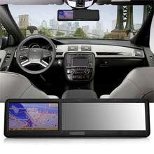 New Arrival 4.3inch HD Touch Screen Bluetooth Rearview Mirror Mini GPS ABS Navigation America Map 8GB Navigator FM tk102b