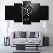 HD Printed game of thrones picture Painting wall art Canvas Print room decor print poster picture canvas Free shipping/ny-904