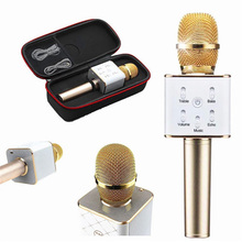 Q7 Wireless Mini Bluetooth Speaker Handheld KTV Karaoke Mini Microphone Mic For IPhone Android Phone Laptop Home KTV