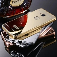Luxury Aluminum Frame + Acrylic back cover Metal Case for HUAWEI honor 5X Ultrathin Metal Coque Funda Case