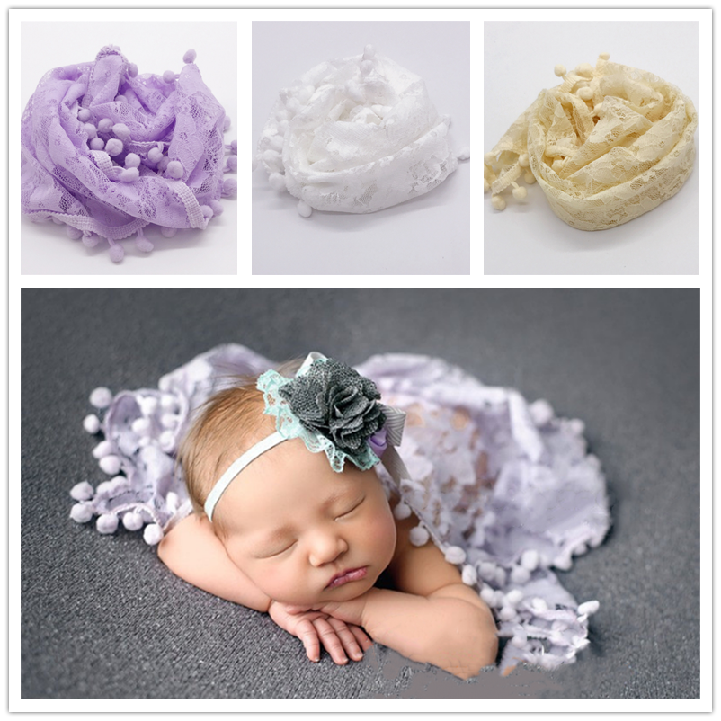 Fashion Newborn Baby Photography Props Floral Wrap Blanket Decorative Baby Shooting Flower Mat Retro Infant Photo Accessories 3