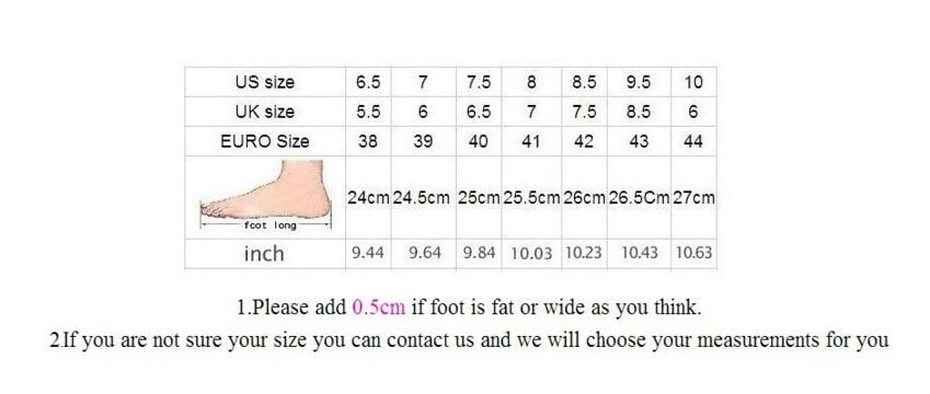 size men