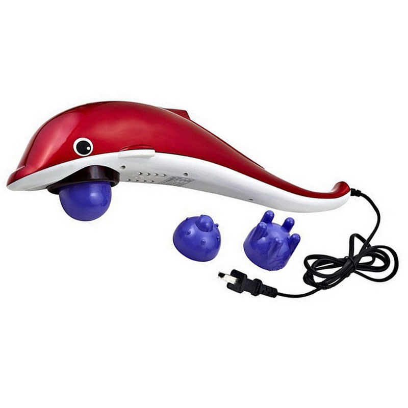 Dolphin Infrared Massager Handheld Pain Reliver Relax Massage Instrument Gifts<br>