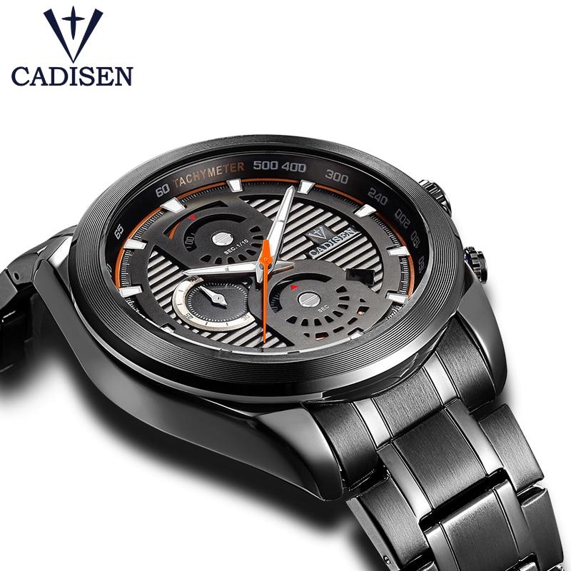Cadisen New Design Watch Men Business Casual Stop Watch 2017 Top Brand Luxury Men Watch Waterproof Wristwatch Relogio Masculino<br>