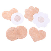 5 Pairs Women's Invisible Breast Lift Tape Stick on Push up Fly Strapless Bra Sticker Bralette Nipple Covers Dress  6KSU 7G4L