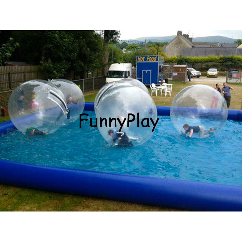 inflatable water ball pool6