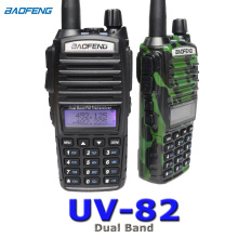 Baofeng UV-82 Walkie Talkie 10km two way radio Dual Band FM transceiver(China)