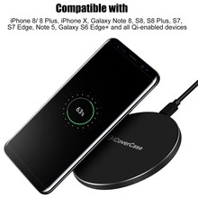 Fast Charger Samsung Galaxy S9 S9plus Wireless Charger Qi Charging Pad Samsung S9 plus Quick Charger Phone Accessory
