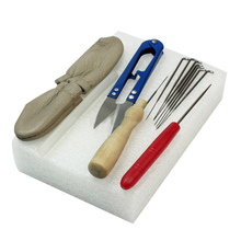 High Quality Needle Felting Starter Kit Wool Felt Tools Mat + Scissors + Needle Craft Kit For Sewing Tools(China)