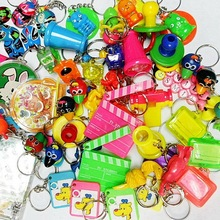 50X Assorted Style Key Chain Vintage Charm Fashion Favour Kid Pinata School Bag Party Favors Gift Novelty Birthday Prize