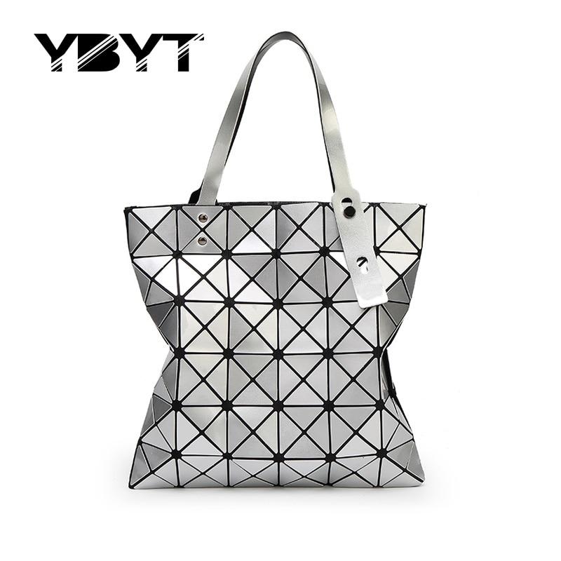YBYT brand 2017 new fashion geometric diamond lattice totes hotsale women shopping handbag lady shoulder messenger crossbody bag<br><br>Aliexpress