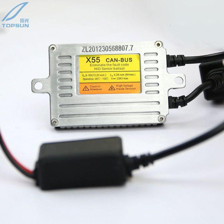 GZTOPHID Fast Start X55 DLT CAN BUS AC 12V 55W DIGITAL HID ballast for car headlight<br>