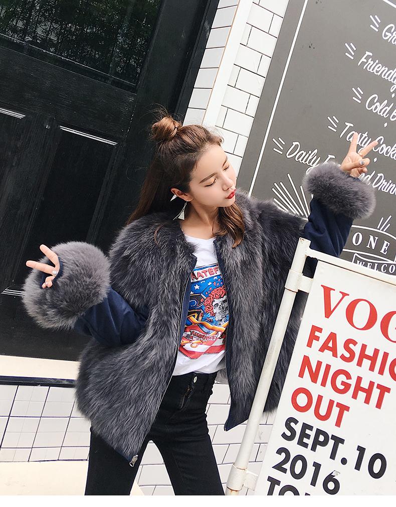 new styles fox fur jacket for women (14)