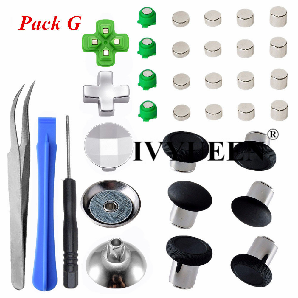 for Dualshock 4 ps4 metal buttons 03