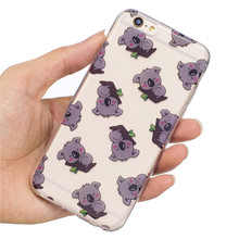 Buy Meachy Panda Koala Unicorn TPU Phone Cases iphone 7 7Plus Soft Case iphone 6 6s 6Plus Back Cover Protective Shell K66 for $1.79 in AliExpress store